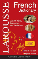 Anglais Dictionnaire/French Dictionary: Francais-Anglais, Anglais-Francais/French-English, English-French Book Cover