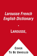 Larousse French English Dictionary Book Cover