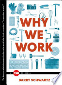 Why We Work Book Cover