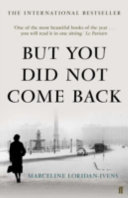 But You Did Not Come Back Book Cover