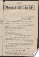 1 nov 1884