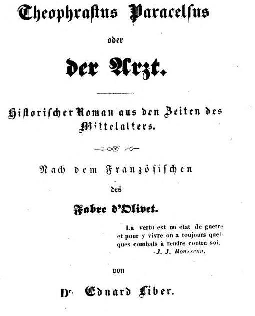 Antoine Fabre d'Olivet († 1825)