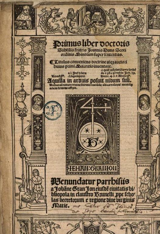 Johannes Scotus (Eriugena) († 877)